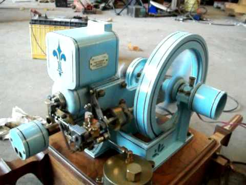 Vaughn Side Shaft Model Hit And Miss Gas Engine Youtube