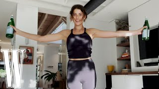 The Best At-Home Arm Workout #WithMe Georgia Fowler | W Magazine