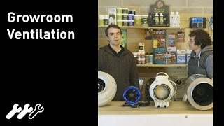#39 - Ventilation in the hydroponic grow room, types of ventilation and extraction