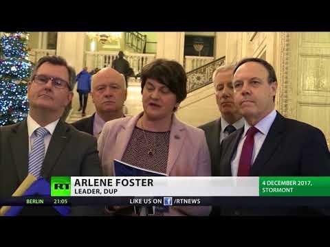 May to meet Irish Premier, Sinn Fein & DUP in Belfast