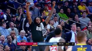 Lou Williams (25 points) Highlights vs Denver Nuggets 2-27-18