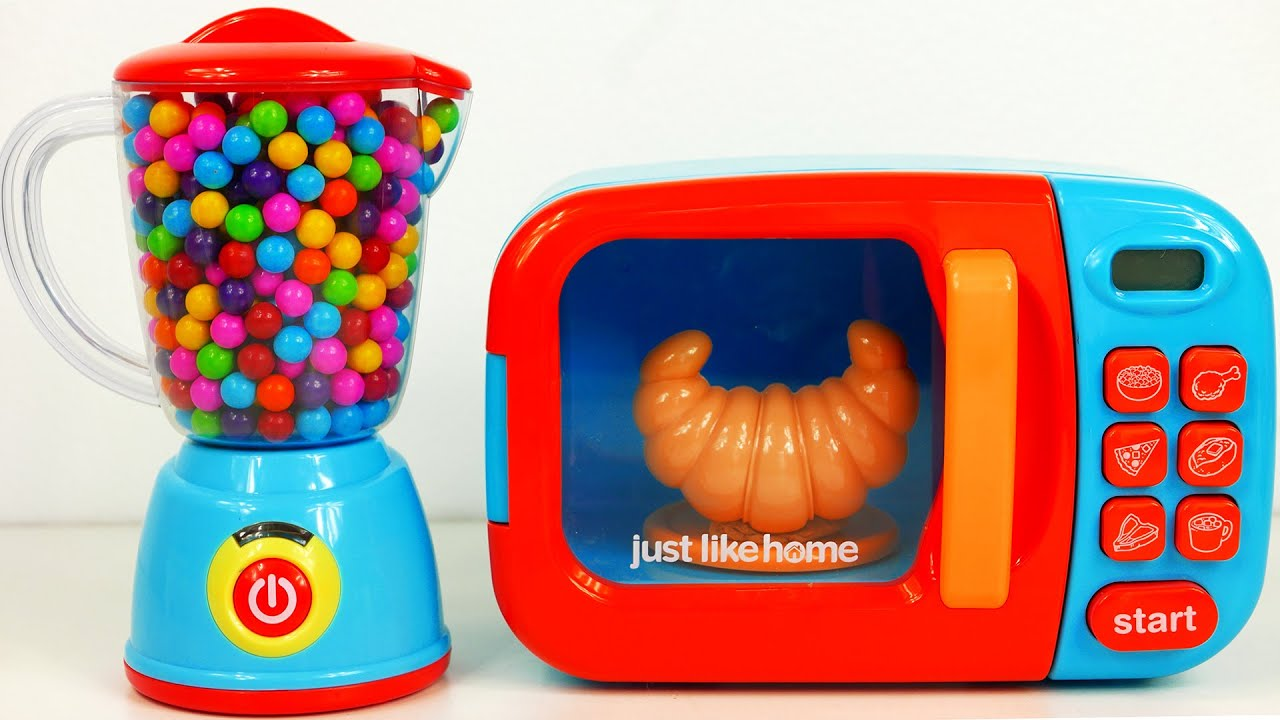 Microwave Blender Kitchen Playset And Cooking Play Doh