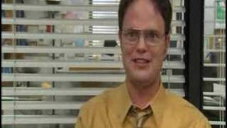 Dwight Schrute Ryan started the fire