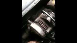 Changement sonde de temperature moteur kubota aixam 1/2