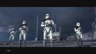 Star Wars Battlefront Singleplayer - Battles mode (Hard Difficulty)