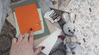 Видео-обзор на набор для пошива Teddy-зайки