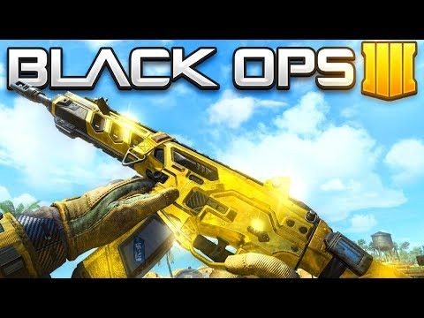 GOLD WEAPON CAMO UNLOCKED in  Black Ops 4