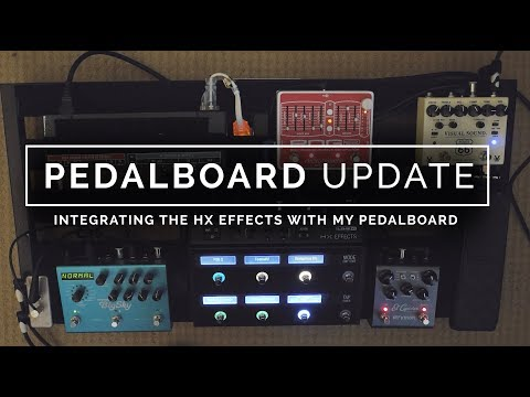 Replaced my Pedal board with the LINE 6 HX EFFECTS ?!