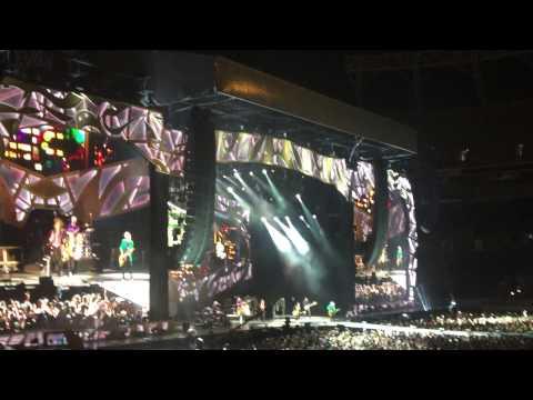 The Rolling Stones Concert - Stones Zip Code Tour Orlando 2015