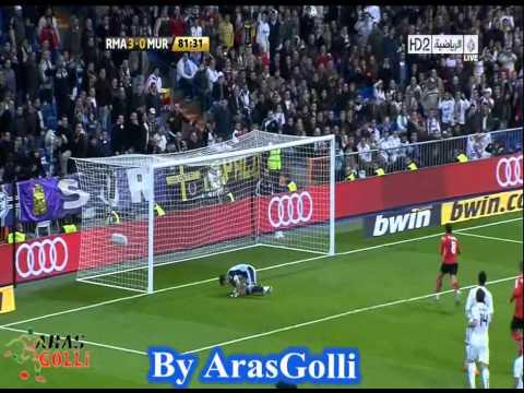 Real Madrid Vs Murcia 5-1 HD All Goals 10.11.2010