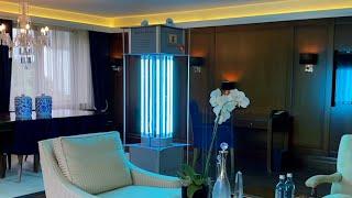Kempinski Hotel Frankfurt setzt im Kampf gegen COIVD-19 zwei anerkannte Technologien ein