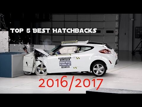 Top 5 Best Hatchbacks 2016 2017 Based On Safety Rating Crash Test