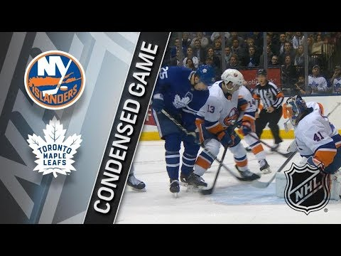 New York Islanders vs Toronto Maple Leafs – Feb. 22, 2018 | Game Highlights | NHL 2017/18. Обзор