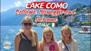 A walk through Bellagio, Menaggio and Varenna Italy around Lake Como