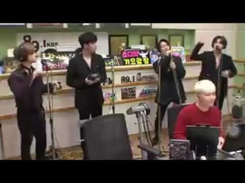 IKON Jinhwan (Jay), June, Bobby and Donghyuk (DK) sing Im Jae Bum's For you | Hongki's Radio