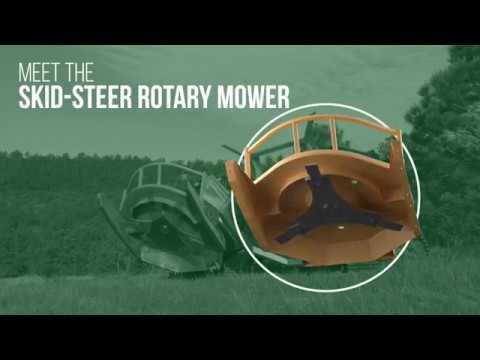 Skid-Steer Rotary Mower - Attachments - Diamond Mowers