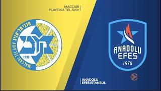 EuroLeague 23. Hafta: Maccabi Playtika Tel Aviv - Anadolu Efes