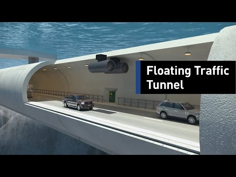 Meet The World's First Floating Underwater Tunnel