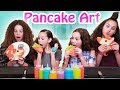 Pancake Art Challenge (Haschak Sisters)