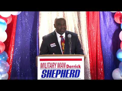 Derrick Shepherd Campaign Kickoff For Jefferson Parish Council, June 7 2019