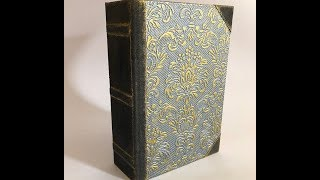 Baroque style vintage journal