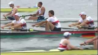 Deutschland Achter gewinnt nach spannendem Rennen Gold !!! - Olympia 2012