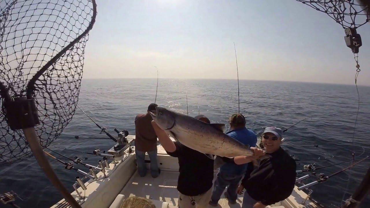 Big bird charters official video youtube for St joseph michigan fishing report