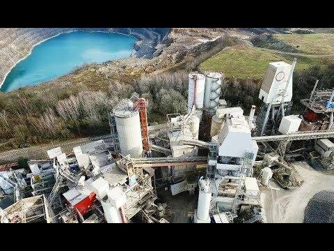 Die Natursteinbrüche Bergisch Land Aus Der Luft Youtube