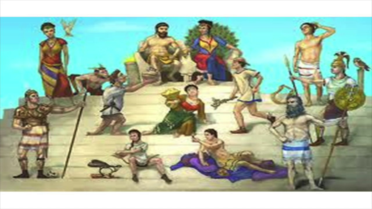 greek gods family tree youtube