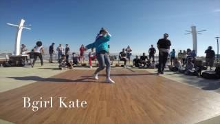 407 FLA x VA 1v1 Park Battle - Bgirl Kate VS Bboy Armani Prelims