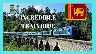 SRI LANKA, spectacular TRAIN RIDE from COLOMBO to GALLE