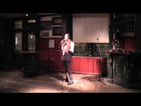 "Kati Rausch at Beer & Jokes ""Kiss my Braces!"" in Helsinki, Finland (English)"