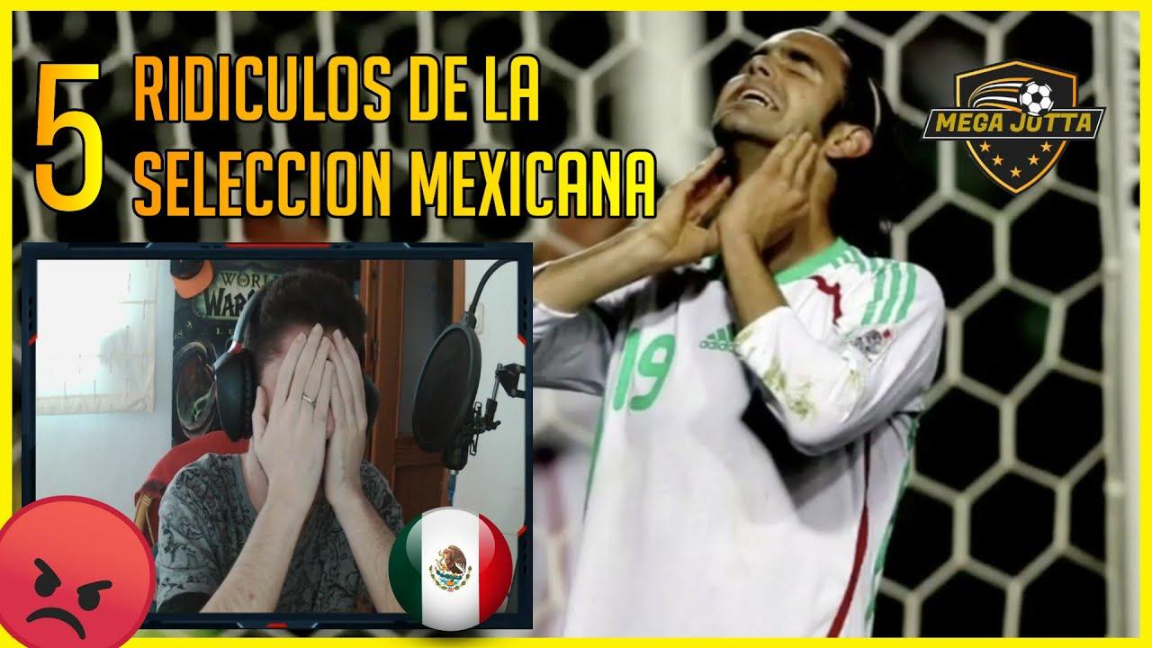 🔥 ESPAÑOL REACCIONA a 5 RIDÍCULOS de la SELECCIÓN MEXICANA 🇲🇽