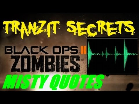 Tranzit Zombies Secrets: Misty Quotes Analysis and Discussion (Part 3)