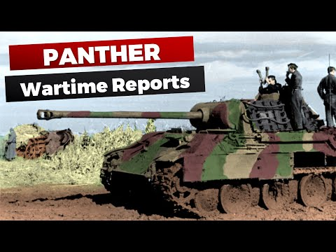 Panther: Wartime Reports & First-Hand Experience