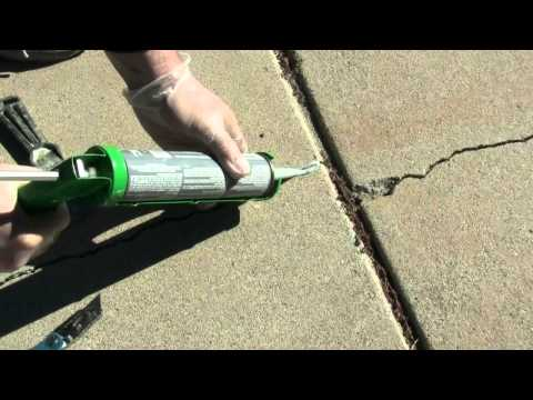 How to Fix a Crack in a Driveway