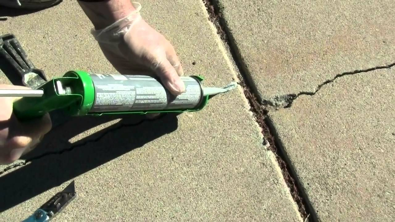 various methods to fix poured concrete