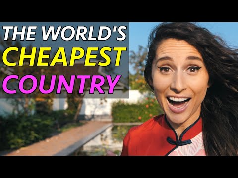 The Worlds' CHEAPEST Country !? (22 Million views on Facebook!)