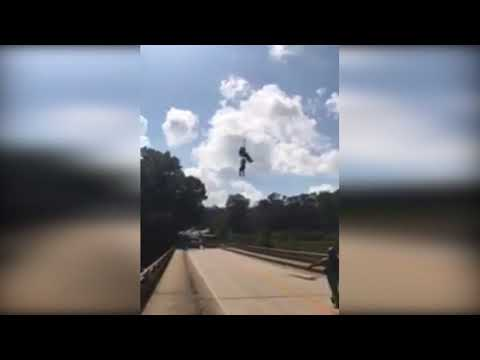 Dramatic video of rescue at High Falls State Park