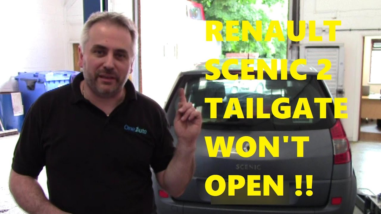 small resolution of renault scenic 2 tailgate won t open doors not locking