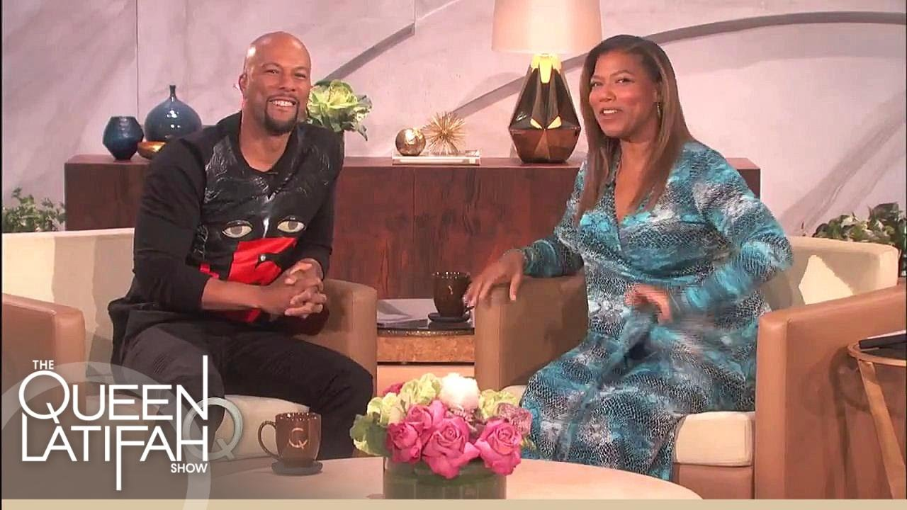 Common Chats About New Album Just Wright The Queen Latifah Show Youtube