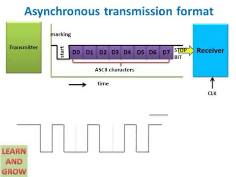 Synchronous And Asynchronous Transmission Format (English)