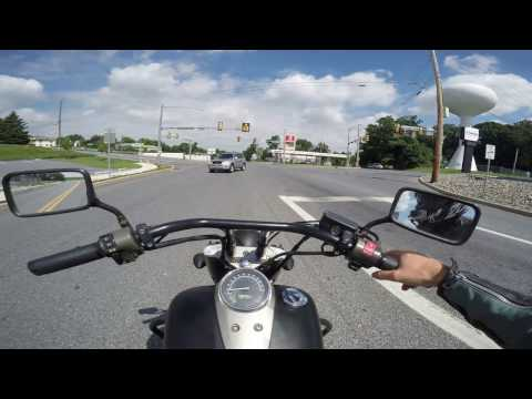 2013 Honda Shadow Phantom Test Drive Review