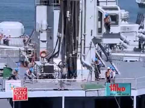 Onboard INS Viraat of Indian Navy