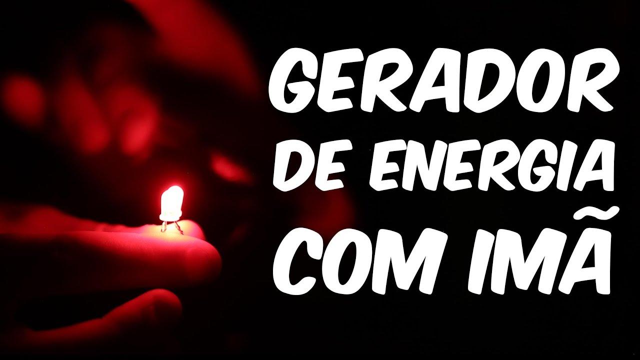 949e6b86f18 Como fazer um GERADOR DE ENERGIA com ÍMÃ em casa. Manual do Mundo
