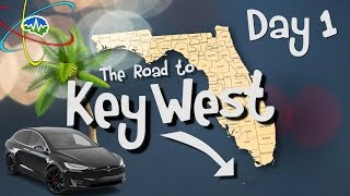 Tesla Model X: Key West Road Trip - Day 1