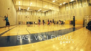 BASL Volleyball | Full Game (1) - 2018-03-08