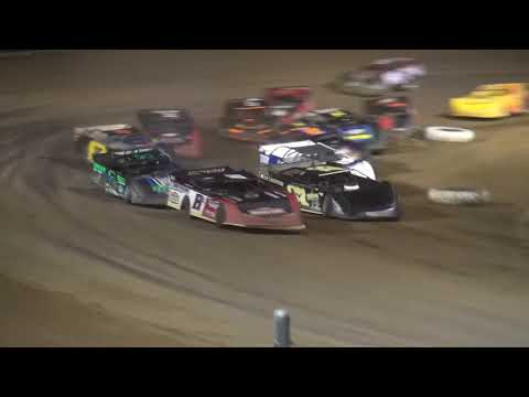 IMS Late Model feature Independence Motor Speedway 8/4/18