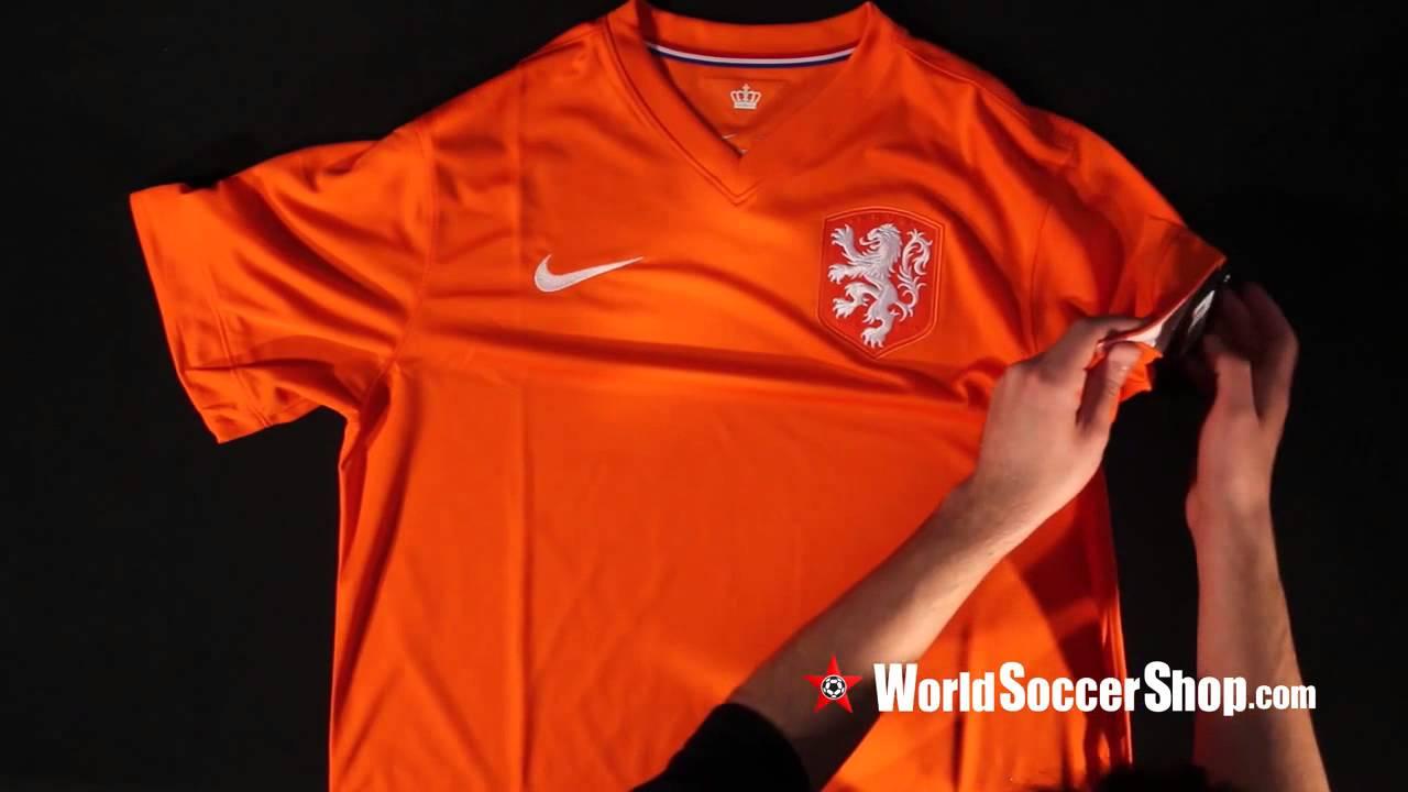 buy popular 6856e dc7cb Nike Netherlands 2014 Home Soccer Jersey