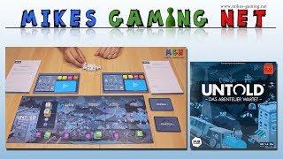 Untold - Das Abenteuer wartet   Verlag: HUB Games & Asmodee